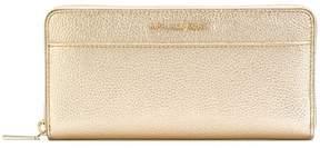 MICHAEL Michael Kors metallic zip around wallet - NUDE & NEUTRALS - STYLE