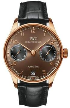 IWC Portuguese 7 IW500124 Day Power Reserve Automatic Watch