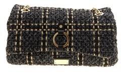 Liu Jo Women's Black Polyester Shoulder Bag.