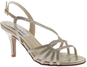 Dyeables Women's Caitlyn Strappy Slingback Sandal