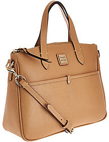 Dooney & Bourke As Is Saffiano Leather Small Satchel - ONE COLOR - STYLE