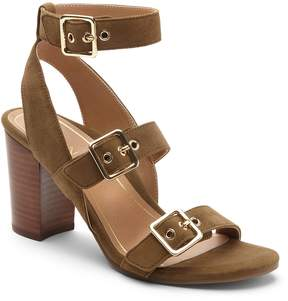 Vionic Carmel Banded Leather Block Heel Sandals