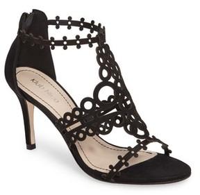 Klub Nico Women's 'Antonia' Laser Cut T-Strap Sandal