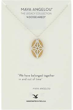 Dogeared We Have Belonged Together... Double Charm Necklace Necklace
