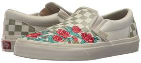 Vans Classic Slip-On DX w/ Rose Embroidery Athletic Shoes
