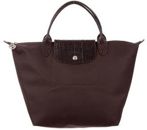 Longchamp Small Le Pliage Bag - BROWN - STYLE