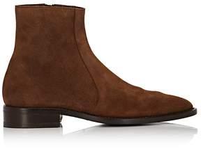 Balenciaga Men's Suede Pointed-Toe Boots