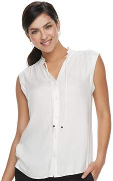 Apt. 9 Women's Tie Accent Blouse