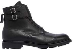 Edward Green Kentmere Pebbled Leather Boots