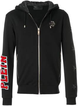 Philipp Plein Hey Man zipped hoodie
