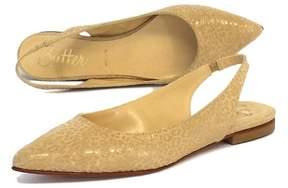 Butter Shoes Nude Leopard Print Suede Flats
