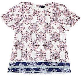 Nautica Girls' Bandana Shirt (8-20)