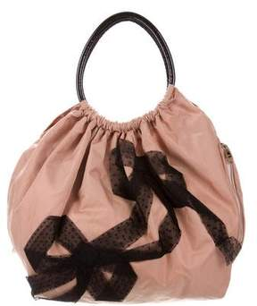 RED Valentino Bow Embellished Tote