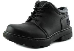 Timberland Rugged Street Ii Oxford Toddler Round Toe Leather Black Oxford.