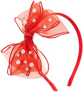Edgehill Collection Tulle Bow Headband