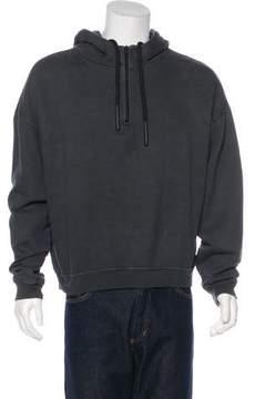 Yeezy Oversize Half-Zip Hoodie