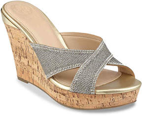 GUESS Women's Eleonora Wedge Sandal
