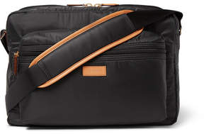 Paul Smith Leather-Trimmed Shell Messenger Bag