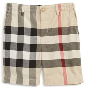 Burberry Toddler Boy's Sean Check Print Shorts