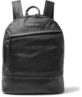 WANT Les Essentiels Kastrup Leather-Trimmed Nylon Backpack