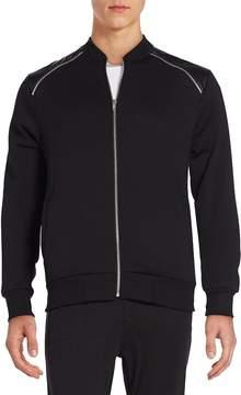 Sovereign Code Men's Landon Zip-Trim Track Jacket - Black, Size xx-large
