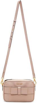 Miu Miu Pink Bow Camera Bag