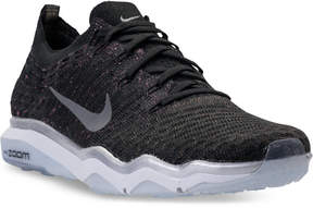 Nike Women's Air Zoom Fearless Flyknit Metallic Running Sneakers from Finish Line