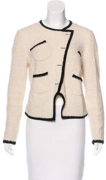 Band Of Outsiders Wool Double-Breasted Jacket
