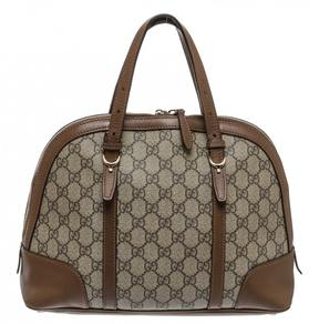Gucci GG leather satchel - BROWN - STYLE