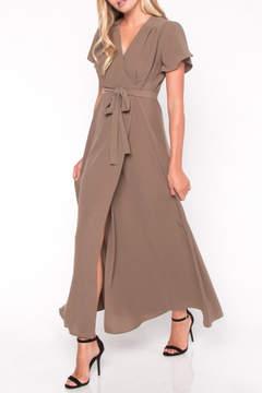Everly Maxi Wrap Dress