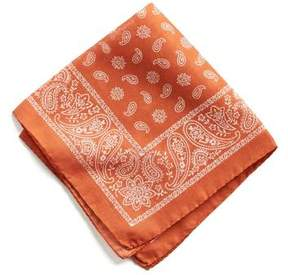 Todd Snyder Italian Cotton Bandana Pocket Square
