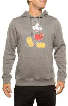 Disney Big Men's Licensed Speckled Fleece Pullover Hoodie, 2XL