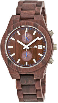 Earth Castillo Chronograph Red Dial Watch