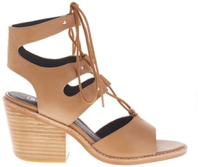 Sole Society Hazel Heel Lace Up Sandal