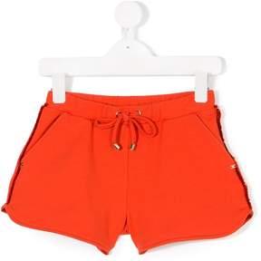 Elisabetta Franchi La Mia Bambina fringed shorts