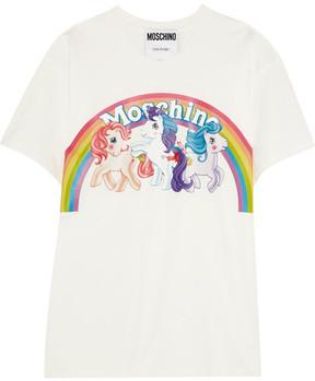 Moschino My Little Pony Cotton-jersey T-shirt - White