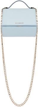 Givenchy Blue Mini Pandora Box Chain Bag