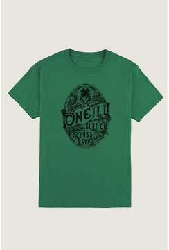 O'Neill St. Patrick's Day Four Leaf Clover Short-Sleeve T-Shirt