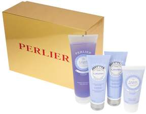 Perlier Lavender 4-piece Kit with Gift Box