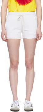 Amo White Shorty Sweat Shorts