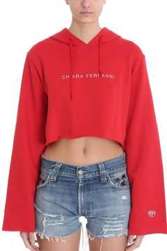 Chiara Ferragni Hoodie Cropped Sweatshirt