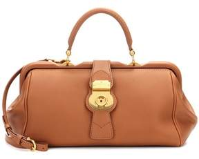 Burberry The Trench leather bowling bag - BROWN - STYLE