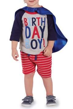 Mud Pie Birthday Superhero Set