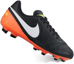 Nike Jr. Tiempo Legend VI Firm-Ground Boys' Soccer Cleats