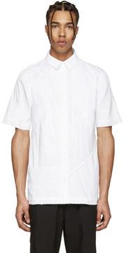 Alexandre Plokhov White Patchwork Shirt