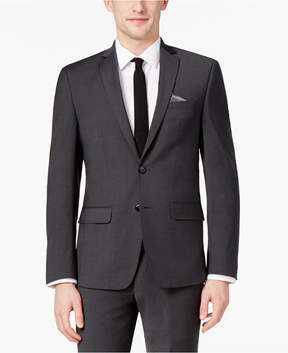 Bar III Men's Extra-Slim Fit Stretch Wrinkle-Resistant Charcoal Suit Jacket, Created for Macy's