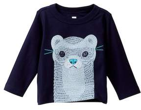 Tea Collection River Otter Graphic Tee (Baby Boys)