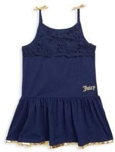 Juicy Couture Little Girl's Cotton Halter Dress