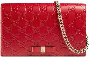 Gucci Signature mini bag - RED GUCCI SIGNATURE - STYLE
