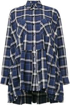 Each X Other tartan shirt dress